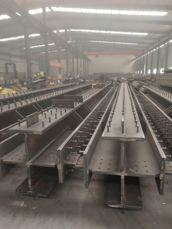 榆林榆能煤化工钢结构十字柱项目
